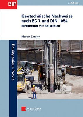 Geotechnische Nachweise nach EC 7 und DIN 1054 PDF