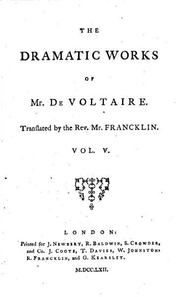 The Works Of M De Voltaire Zara The Prude Pandora