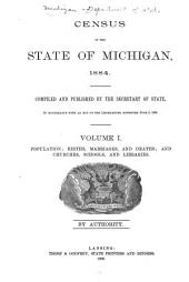 Census of the State of Michigan, 1884: Volume 3