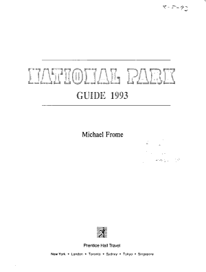 National Park Guide PDF