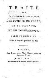 Traité sur la culture et les usages des Pommes de Terre, de la Patate et du Topinambour