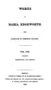 Works of Maria Edgeworth: Harrington. Ormond. 1825