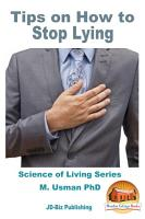 Tips on How to Stop Lying PDF