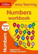 Collins Easy Learning Preschool   Numbers Workbook Ages 3 5  New Edition