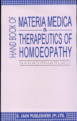 Handbook of Materia Medica   Therapeutics of Homoeopathy PDF