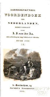 Aardrijkskundig woordenboek der Nederlanden: Volume 6