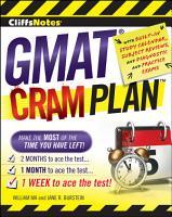 CliffsNotes GMAT Cram Plan PDF