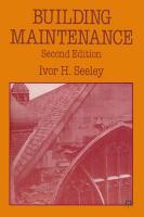 Building Maintenance PDF