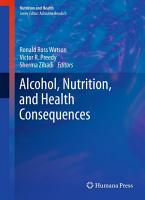 Alcohol  Nutrition  and Health Consequences PDF