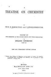 A Treatise on Chemistry: Volume 3, Part 3