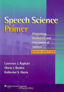 Speech Science Primer Book
