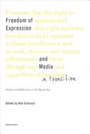 Freedom of Expression and Media in Transition