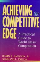 Achieving the Competitive Edge PDF