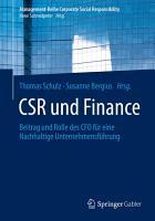 CSR und Finance PDF