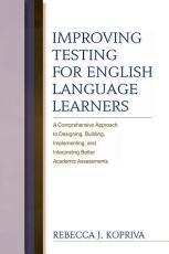Improving Testing For English Language Learners PDF