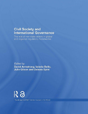 Civil Society and International Governance PDF