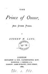 The Prince of Omur and Other Poems