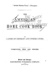The American Home Cook Book