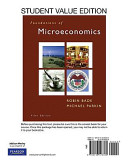 Foundations Of Microeconomics Student Value Edition