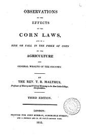 Observations on the effects of the corn laws