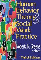 Human Behavior Theory and Social Work Practice PDF