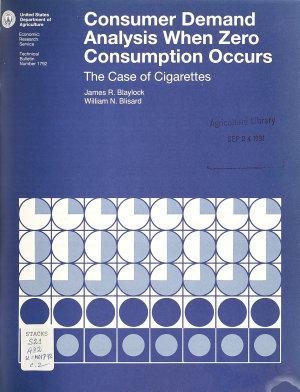U S  Demand for Food PDF