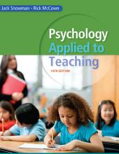 Psychology Applied to Teaching: Edition 14