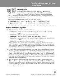The Grasshopper And The Ants Reader S Theater Script Fluency Lesson Book PDF