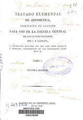 Tratado elemental de aritmética: Volumen 1