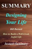 Summary   Designing Your Life PDF
