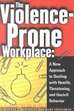 The Violence-prone Workplace