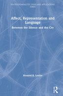 Affect, Representation and Language