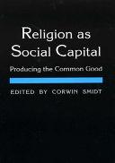 Religion as Social Capital PDF