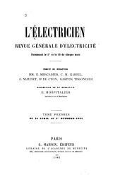 L'Electricien: Volume1