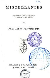Miscellanies from the Oxford Sermons and Other Writings of John Henry Newman: Part 4