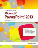 Illustrated Course Guide  Microsoft PowerPoint 2013 Basic PDF