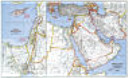 National Geographic Middle East Map/Eastern Mediterranean