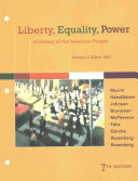 Liberty Equality Power Lms Integrated For Mindtap History 1 Term 6 Months Access Card Book PDF