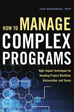 How to Manage Complex Programs PDF