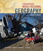 Contemporary World Regional Geography PDF