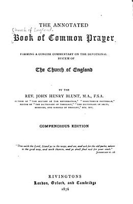 The Annotated Book of Common Prayer PDF