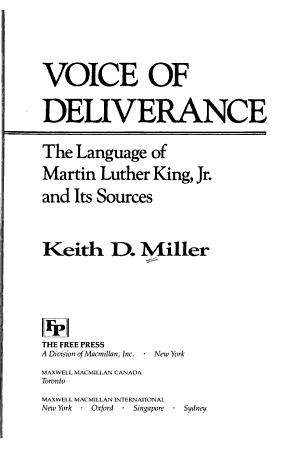 Voice of Deliverance PDF