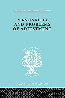Personality and Problems of Adjustment PDF