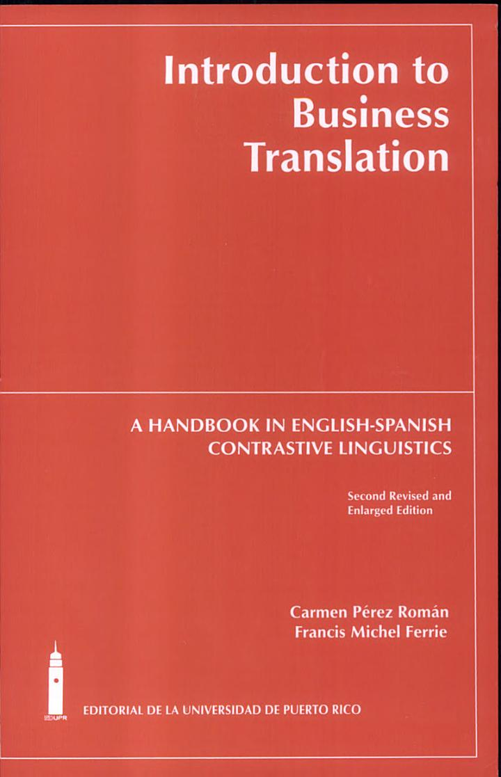 Introduction to Business Translation