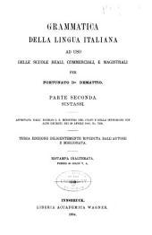 Grammatica della lingua italiana ad uso delle scuole reali, commerciali, magistrali e delle prime classi ginnasiali