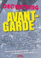 Decentring the Avant Garde PDF