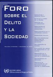 Foro Sobre El Delito Y la Sociedad: Diciembre 2002