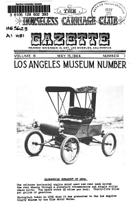 The Horseless Carriage Club Gazette PDF