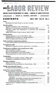MONTHLY LABOR REVIEW VOLUME 49  JULY TO DECEMBER 1939 PDF
