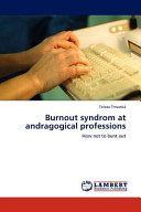 Burnout Syndrom at Andragogical Professions